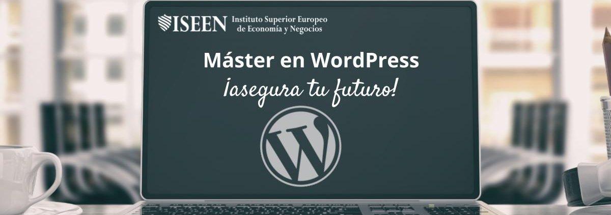Master en desarrollo web en Wordpress por ISEEN